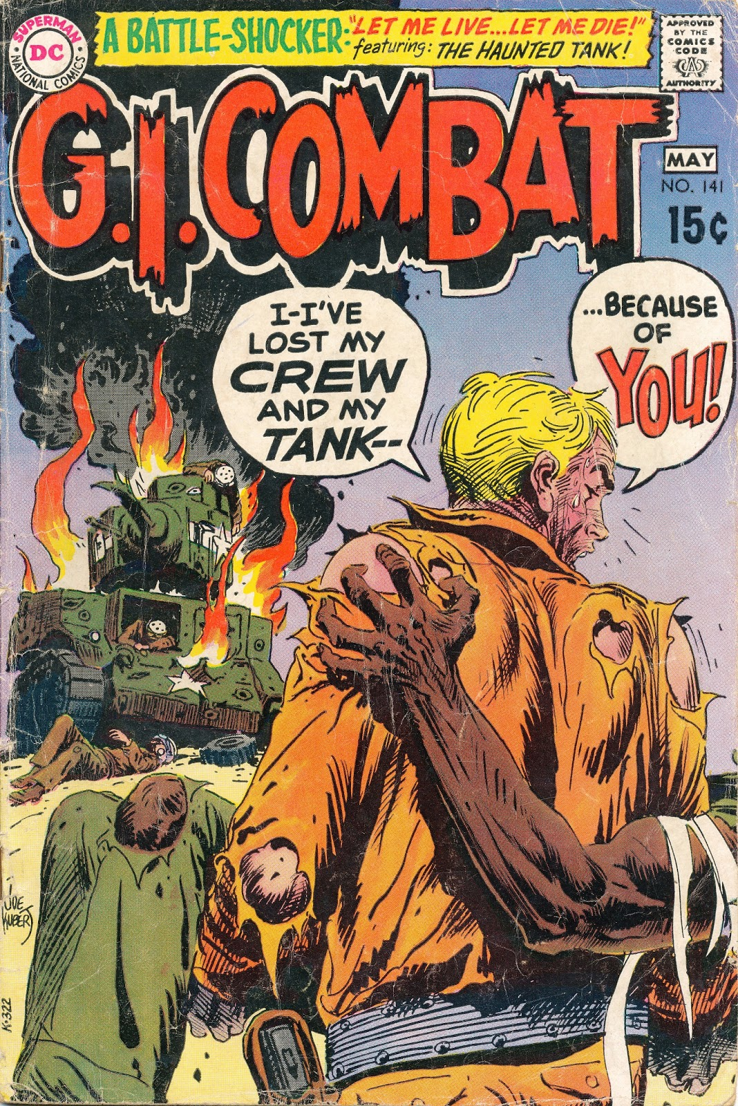 Out of this world social history in comics g i combat 141 let joe kuberts cover of g i combat 141 like many dc covers from the late 60s or very early 70s is somewhat misleading taken at face value publicscrutiny Image collections