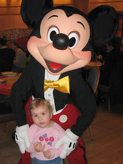 Mickey Mouse and Top Ender at Disney Land Paris 2006