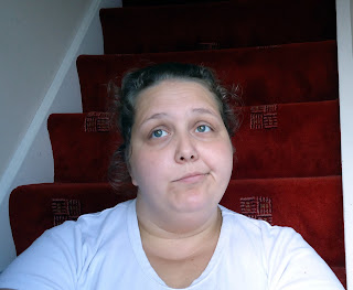 Me sitting on the Naughty Step