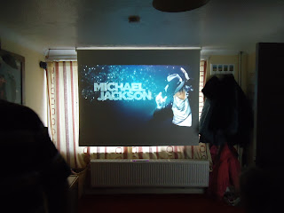 An Opening Shot of Michael Jackson: The Experience