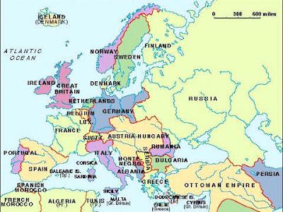 La triple alianza 1914