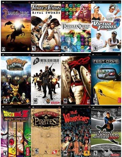 All psp games