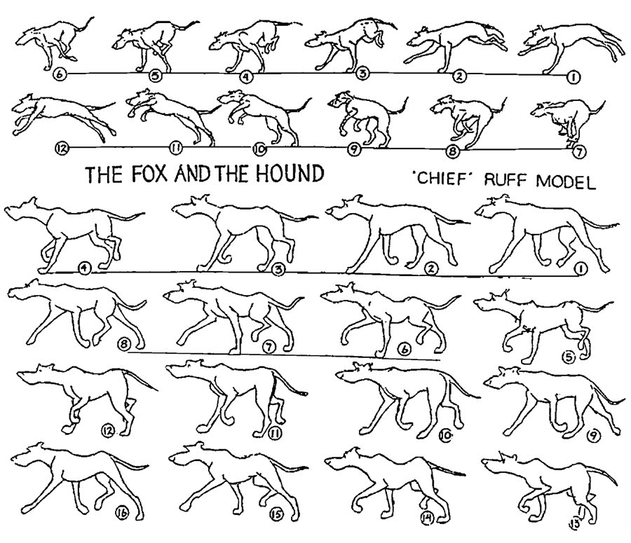 Production © The Fox and the Hound