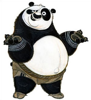 Living Lines Library Kung Fu Panda 2008 Character Design