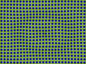 Waving Dots Motion Illusion