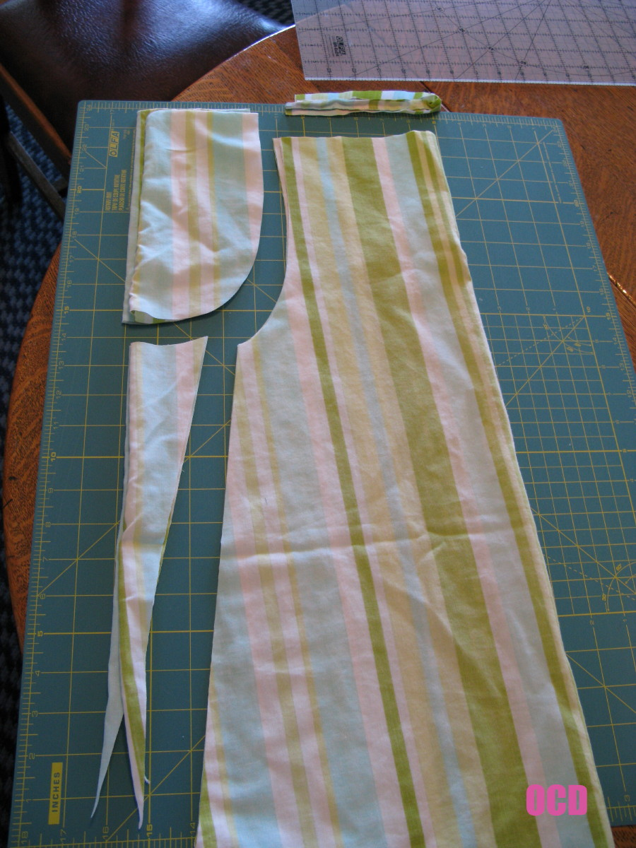armhole template for pillowcase dress - ocd obsessive crafting disorder pillowcase dress