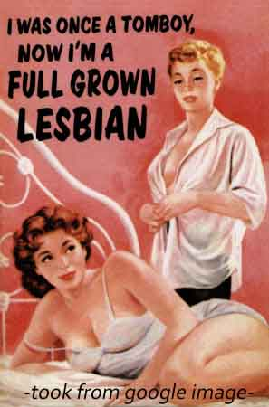 What It Means To Be A Lesbian