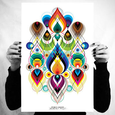 Vectorfunk Rorschach Posters