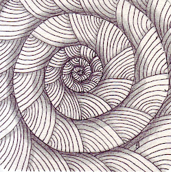 zentangles zentangle simple zen drawings creative animals drawing spiral accountant selvage tangle snail painting spirals simplicity flickr