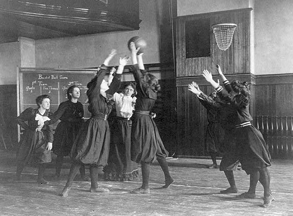 """It Is All About Basketball History Of Game: AttaGirl, Circa 1900: Huskies Today, """"Lassies"""" Yesterday"""