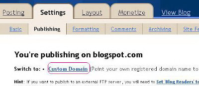 How to Add a Sub-domain to a Custom Domain in Enom | Blogger