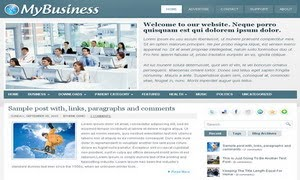 MyBusiness Blogger Template