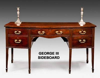 Examples Of Distinct Characteristics George I Early Georgian Furniture Would Include A General Absence Intricate Carvings As Well The Use Turned