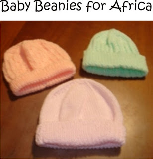 Baby Beanies for Africa and NZ 8c6ecbef4e8