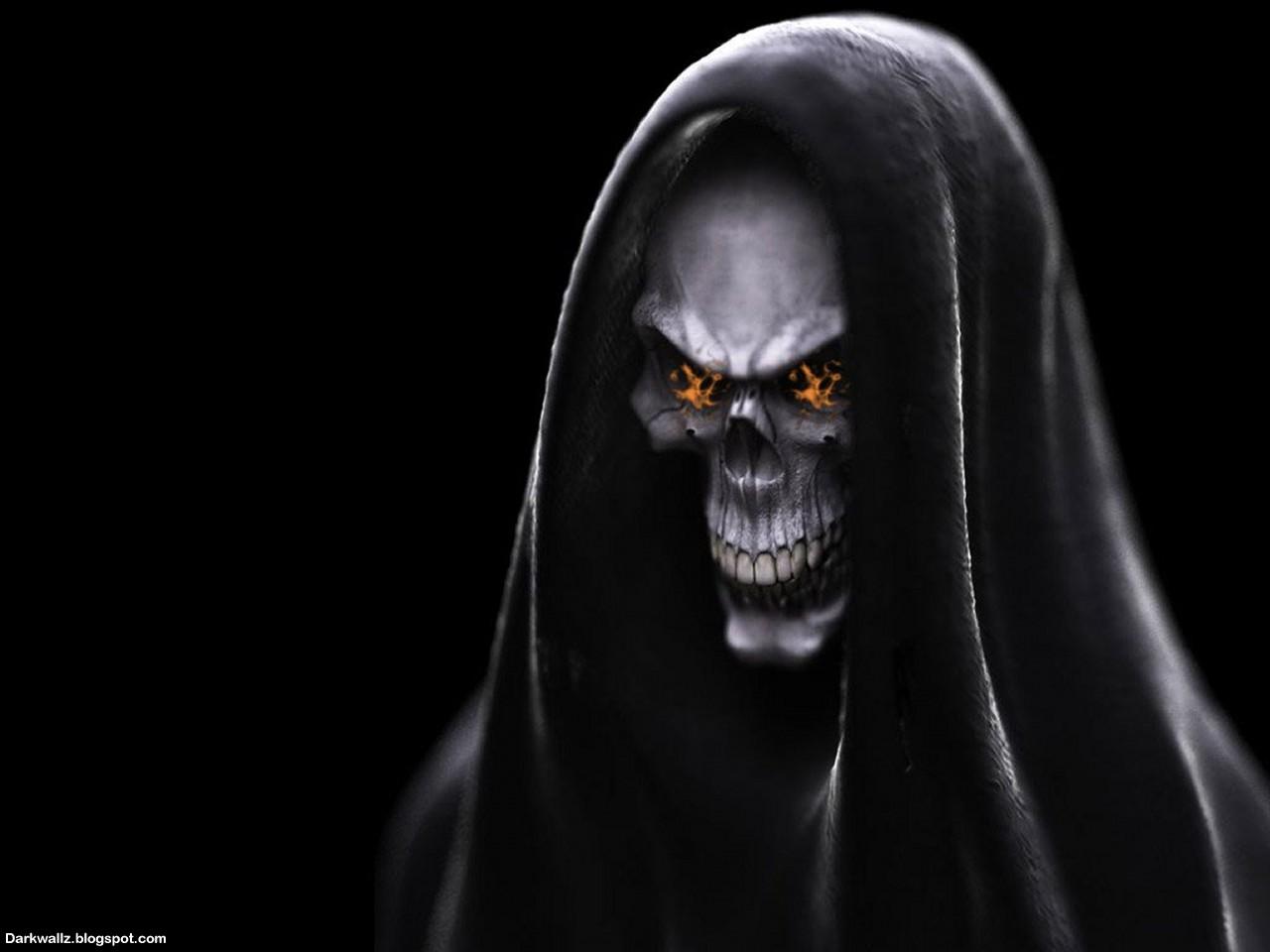Skulls Wallpapers 42 dark skull wallpaper   Dark ...
