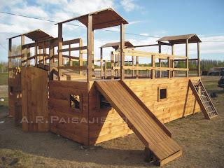 construimos el juego de madera que mejor se adecua a su jardin y usuarios diseamos a medida y gusto del cliente con en planos