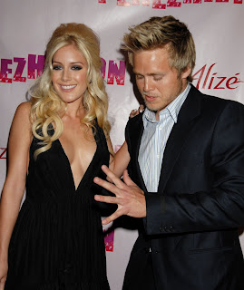 Heidi Montag Cleavage At Perez Hilton's B-Day Party