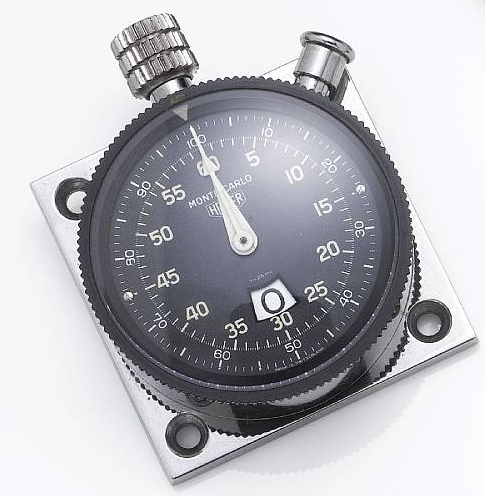 Dinosaurs And Robots Heuer Dash Mounted Stopwatch At Auction