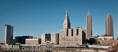 Another location for a scenic skyline shot of Cleveland