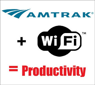 Wireless Internet is now free on Amtrak.