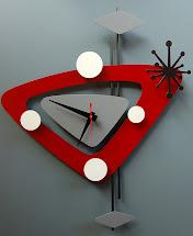 Clock And Retro