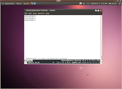 From the Canyon Edge: Ubuntu's New Themes and Byobu