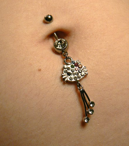 Wallpaper World: Navel Ring Collection