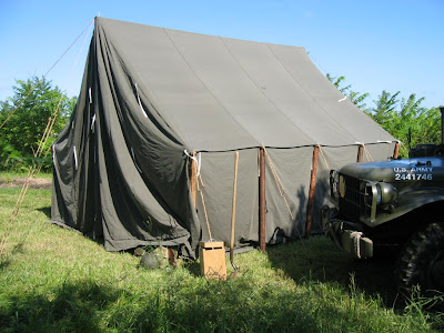 Armbruster builds WWII Canvas Tents & Armbruster Manufacturing Co. | Armbruster builds WWII Canvas Tents
