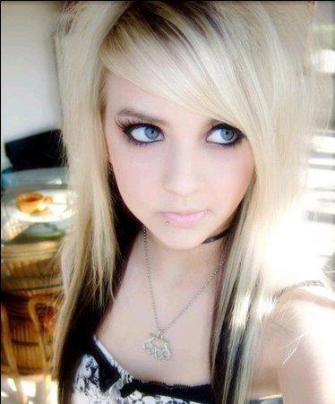 Blonde Teens Scene Black 58