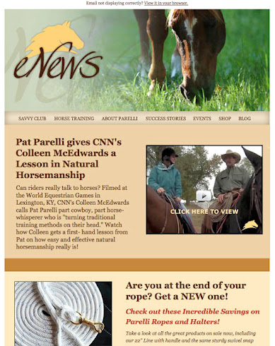 Parelli Natural Horsemanship E-News