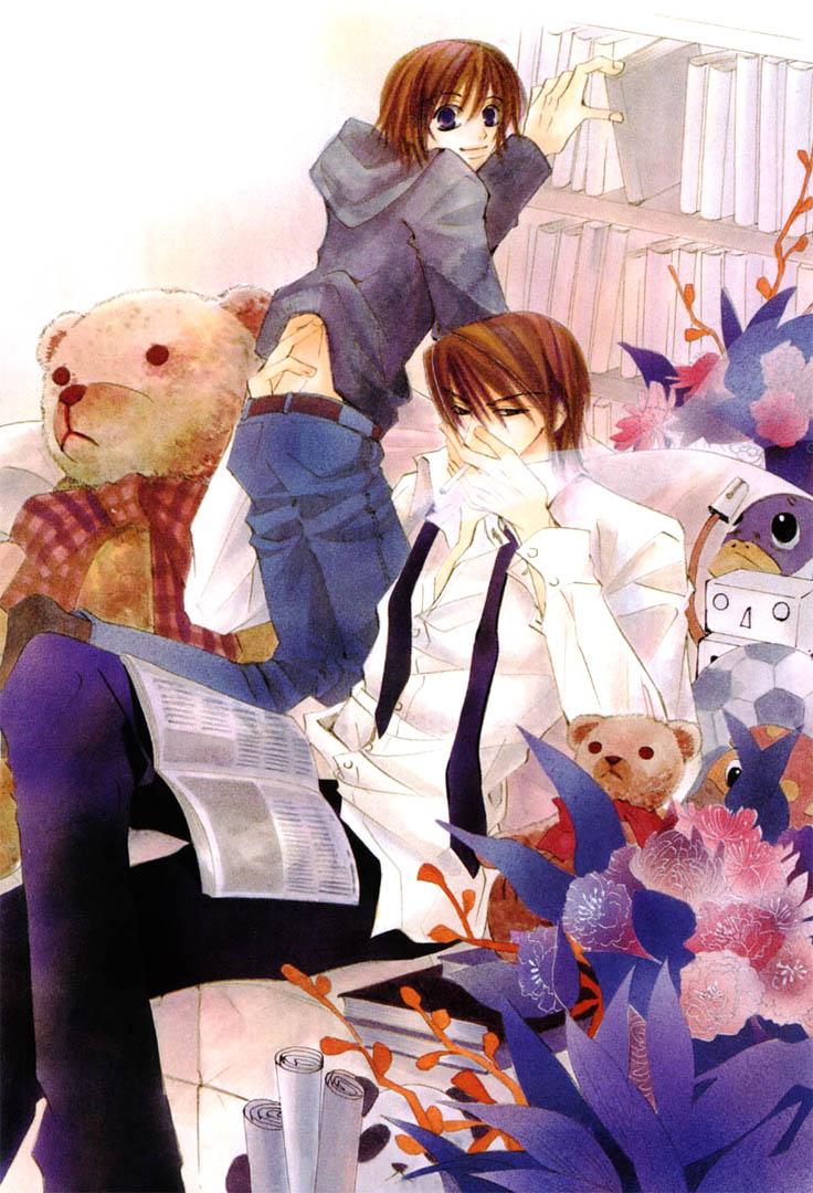 Himitsu Yaoi: Junjou Romantica [Mangas]