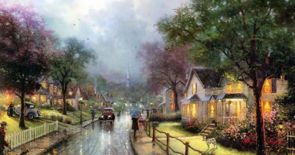 Hrithik Roshan Car Wallpaper A Beautiful Oil Painting A Wet Road On A Rainy Day