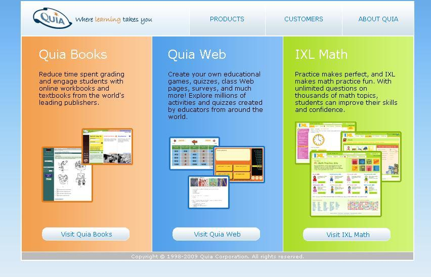 Quia Login guide to enter Student Zone at www.Quia.com
