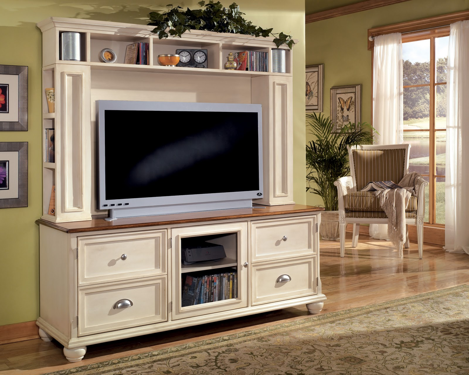Tv Stand Decor Ideas Tv Stands Outlet Matching Entertainment Furniture With