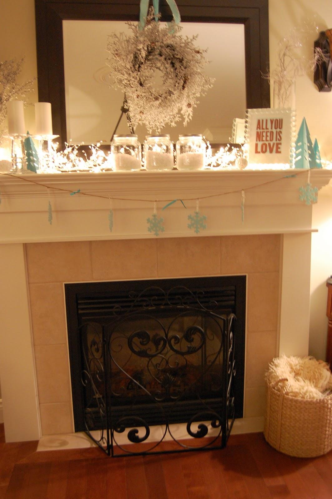 Ten June Three Steps to a Cozy Winter Mantel