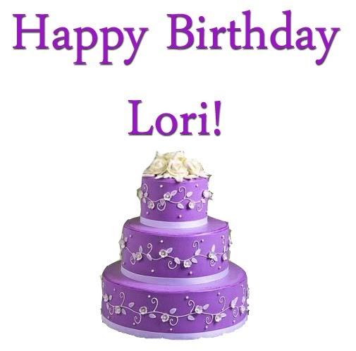 Purple Birthday Cake Images