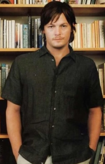 norman reedus yay sweetest bookwormever