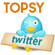Topsy no blogger - Retweet