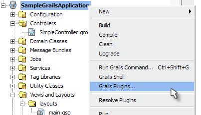 Installing Grails Plugins in NetBeans - Messages from mrhaki