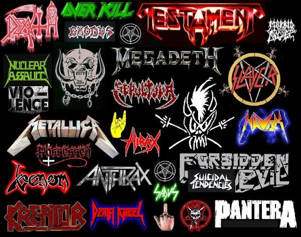 Thrash metal band logos | All4band.com |Thrash Metal Band Logos