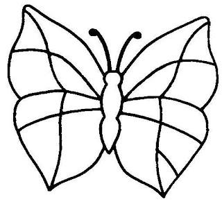 Dibujo De Mariposas Para Imprimir Y Colorear Mariposa Para Pintar