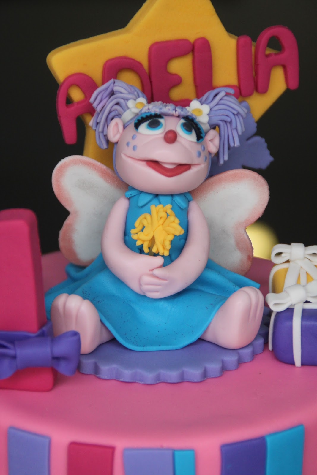 Abby Cadabby 3 Tier Cake