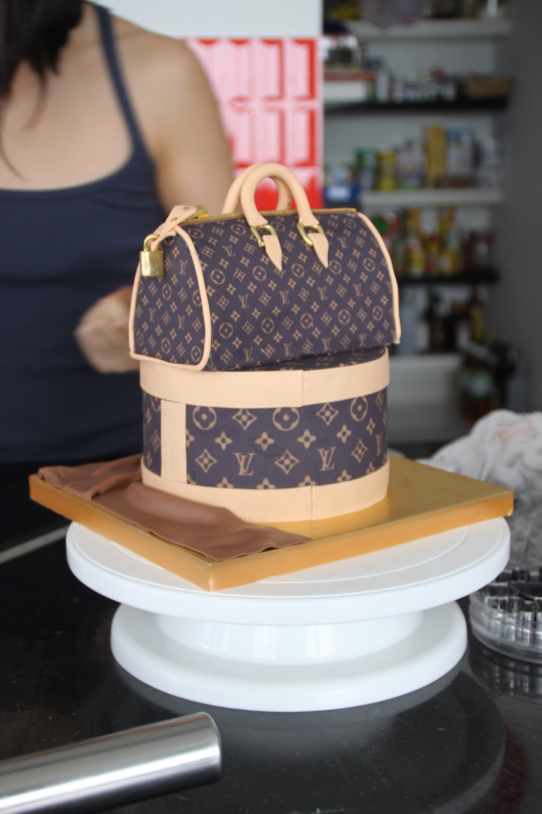 Celebrate With Cake Louis Vuitton Bag Cake