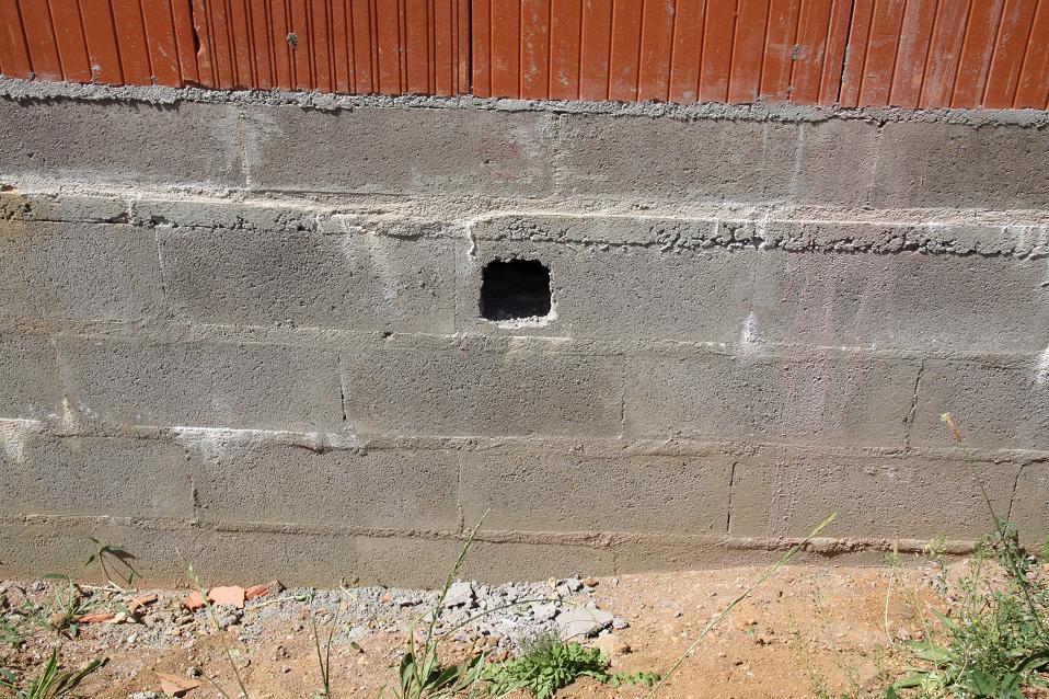 Autoconstruction de notre maison a ration vide sanitaire - Maison sans vide sanitaire humidite ...