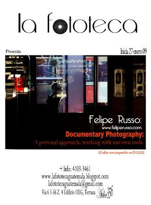 Workshop Documentary Photography By Felipe Russo Brasil