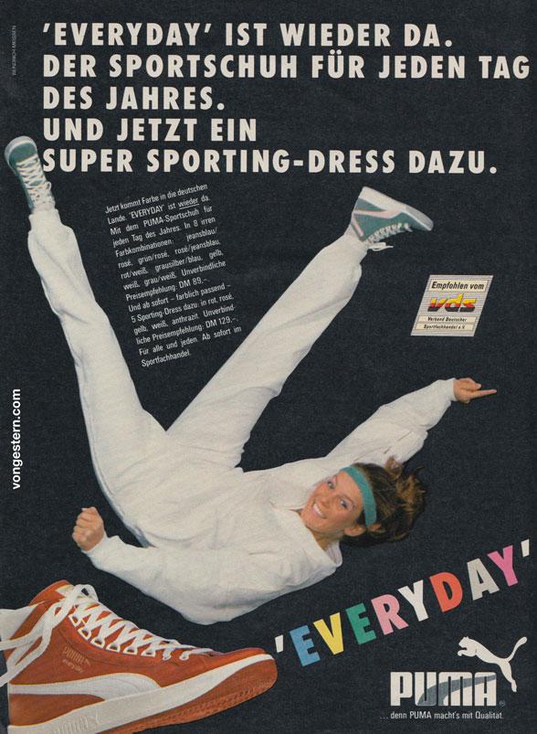 vongestern Blog: Puma Everyday vs. adidas Twister 1985