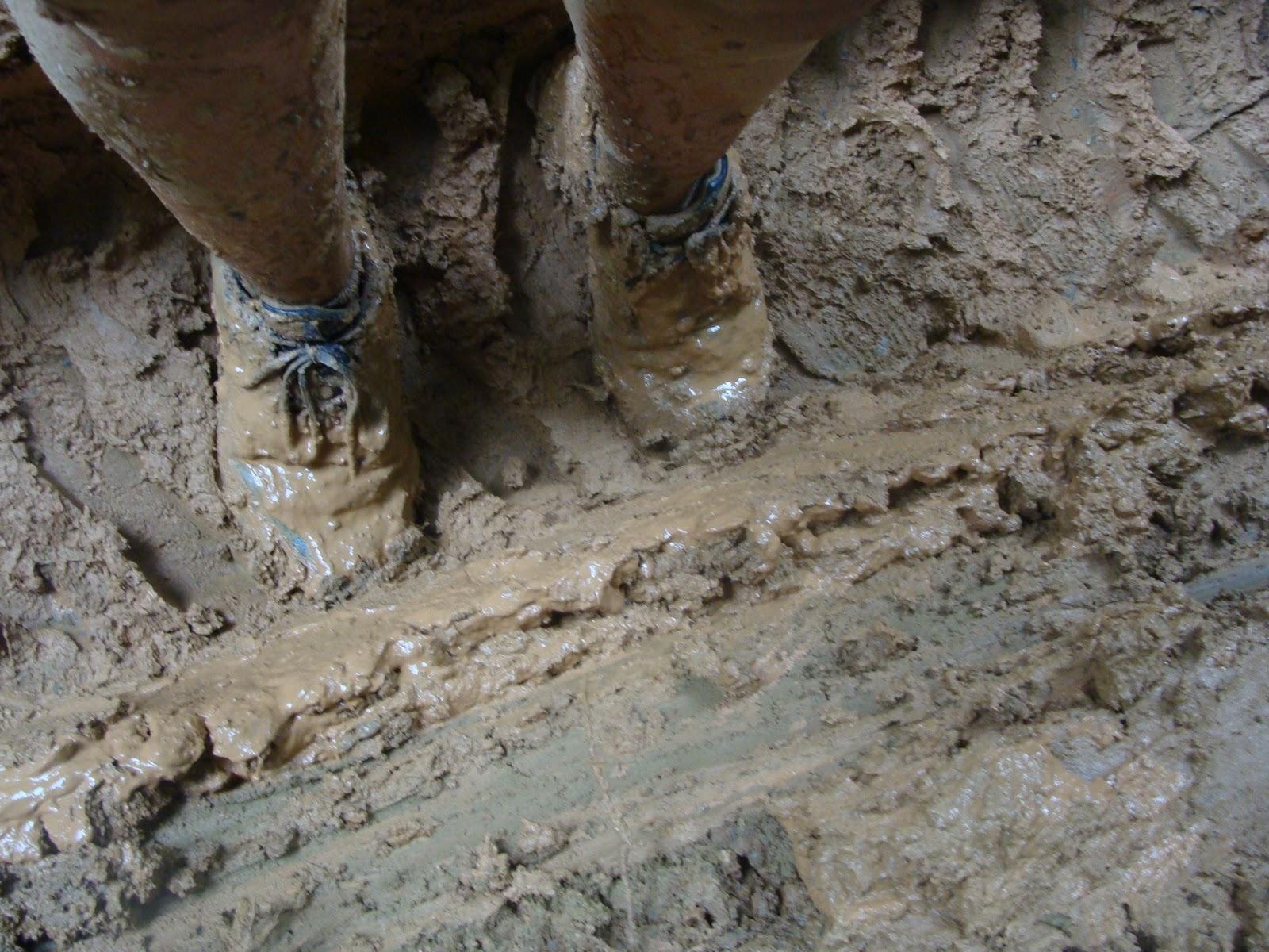 Terra, barro e lama...