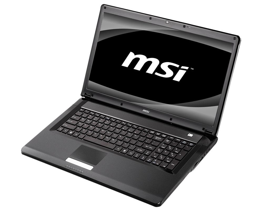 MSI CX500DX Notebook ATI Mobility Radeon HD 545v VGA New