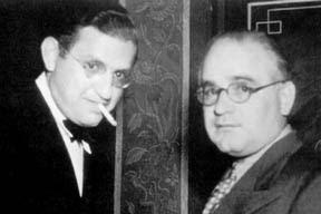 Los hermanos Myron y David Selznick