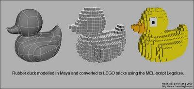 Lego Moc Rubber Duck